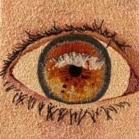 Hazel Eye embroidery